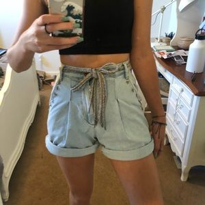 Urban Outfitters BDG Denim Beach Shorts 24